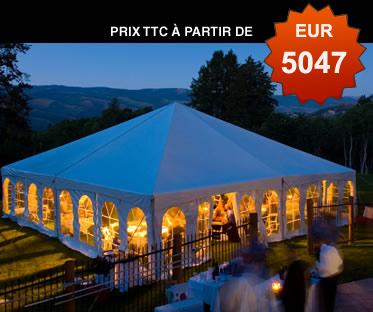 Tente de r ception vente de tentes de r ception achat for Vente en location